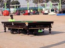 Automobili strambe car- di Biiliards Tabe Fotografia Stock Libera da Diritti