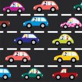 Automobili sulla strada Fotografie Stock