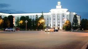 Automobili a Ufa stock footage