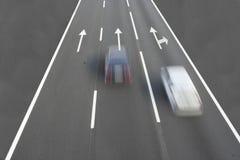 Automobili veloci Fotografia Stock Libera da Diritti