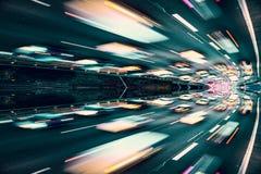 Automobili veloci Fotografia Stock