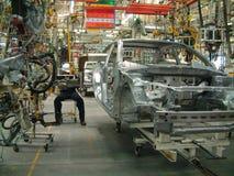 Automobilindustrie stockfotografie