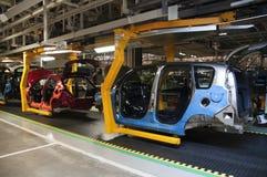 Automobilindustriefertigung stockfoto