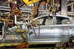 Automobilindustriefertigung Stockbild