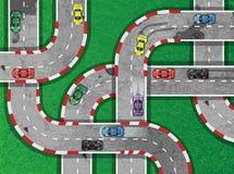 Automobilismo sulla strada principale Fotografia Stock