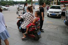 Automobilistes chinois image stock