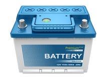 Automobilowa bateria ilustracji