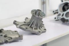 Automobilowa części produkcja gorącym skucie procesem zdjęcie stock