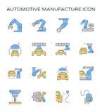 Automobilowa rękodzielnicza ikona Zdjęcie Stock