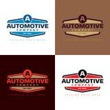Automobilowego Firma logo - Wektorowa ilustracja Zdjęcia Stock