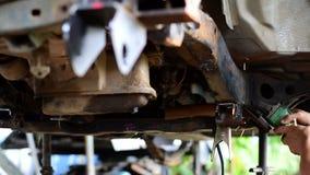 Automobilowego przemysłu i garażu pojęcia zdjęcie wideo