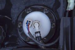 Automobilowy benzyna silnik obraz stock