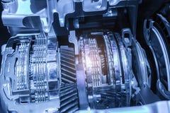 Automobilowy przekazu gearbox Zdjęcia Royalty Free