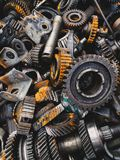 Automobilowy przekazu gearbox samochody obrazy royalty free