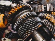 Automobilowy przekazu gearbox samochody obrazy stock