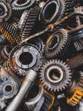 Automobilowy przekazu gearbox samochody fotografia stock