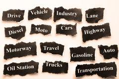 Automobilowy przemysł Obrazy Stock