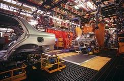 AutomobilProduktionsanlage Lizenzfreie Stockfotos