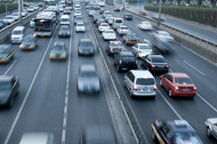 Automobilreiseverkehr Lizenzfreie Stockfotos