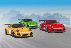 Automobilsport Stockbilder