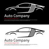 Automobilunternehmenlogo stock abbildung