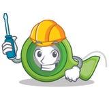 Automotive adhesive tape character cartoon. Vector illustration Royalty Free Stock Photos