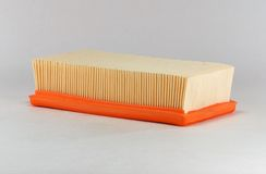 Automotive air filter Stock Photography