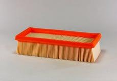 Automotive air filter Stock Image