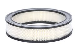 Automotive air filter isolated Stock Photo
