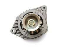 Automotive alternator royalty free stock photos