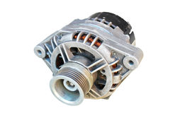 Automotive alternator Stock Photography
