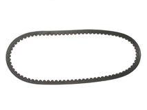 Automotive belt. Closeup of automotive belt on white background Stock Image