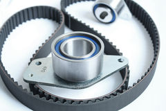 Automotive belt drive kit Stock Photos