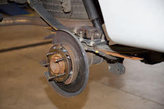Automotive brake Repairs Stock Images