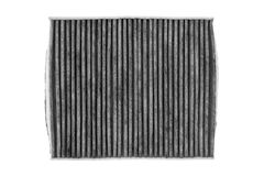 Automotive cabin filter pollen. Royalty Free Stock Photo
