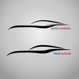 Automotive car speed auto services logo.  Stock Photos