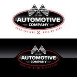 Automotive Company商标-传染媒介例证 免版税库存照片