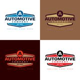 Automotive Company商标-传染媒介例证 库存照片