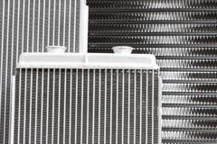 Automotive cooling radiators. Stock Photo