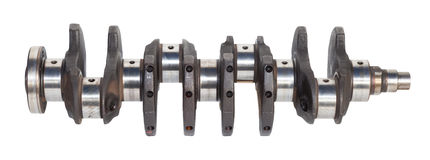 Automotive crankshaft Stock Photography