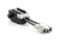 Automotive electrical connector Stock Images