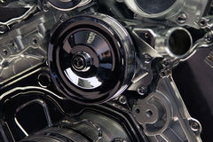 Automotive Engine Close Up Royalty Free Stock Photos