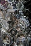 Automotive Engine Close Up Royalty Free Stock Photo