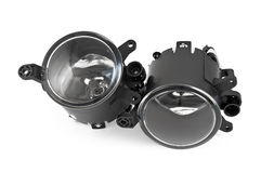 Automotive fog lights Royalty Free Stock Photos