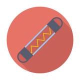 Automotive fuse single icon. Automotive fuse. Single flat color icon. Vector illustration royalty free illustration