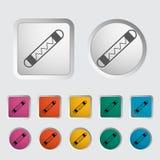 Automotive fuse single icon. Stock Image