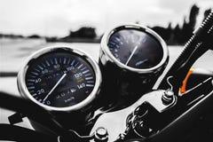 Automotive, Gauge, Motorbike, Motorcycle Royalty Free Stock Photos