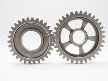 Automotive gear. High precision automotive gear box close up stock photography