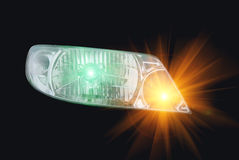 Automotive head lamp Stock Images