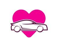 Automotive Icon Logo Design Element Stock Images